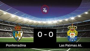 La Ponferradina y Las Palmas At. empatan (0-0)