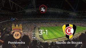 Pontevedra 3-1 Rápido de Bouzas