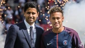 El presidente del PSG, harto de rumores sobre Neymar y el Real Madrid