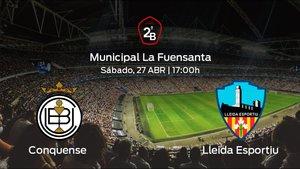 Previa del duelo de la jornada 35: Conquense contra Lleida Esportiu