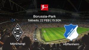 Previa del encuentro de la jornada 23: Borussia Mönchengladbach - Hoffenheim