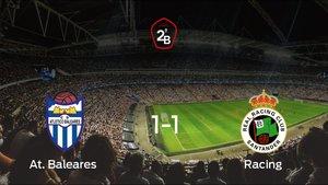 El Racing consigue el ascenso a Segunda División a pesar del resultado de la vuelta (1-1)