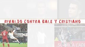Rivaldo elige su chilena frente a las de Bale y Cristiano