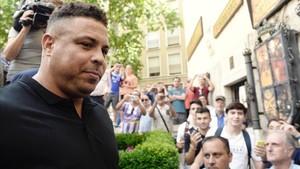 Ronaldo debutará como propietario en el palco pucelano