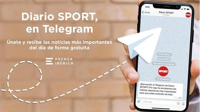 SPORT se une a Telegram, síguenos