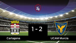 El UCAM Murcia ganó en casa del Cartagena