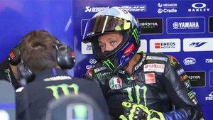 Valentino Rossi aún no ha cerrado su renovación