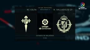 El Valladolid consigue un punto en Balaídos en el tiempo añadido