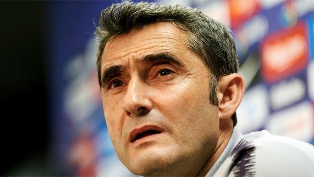 Valverde anunció rotaciones ante el Levante