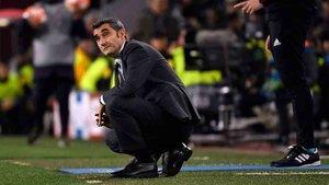 Valverde está consolidando una alineación tipo