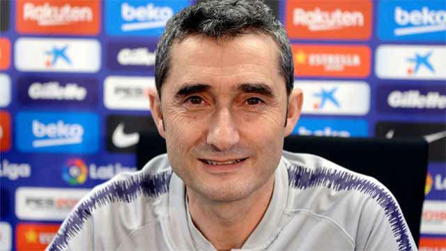 Valverde, optimista con la recuperación de Dembélé