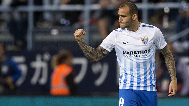 Video resumen: El gol de Sandro en el Málaga - Sevilla (4-2)