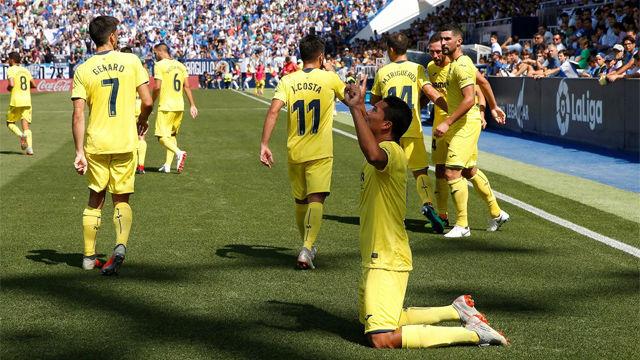 El Villarreal resurge en Leganés