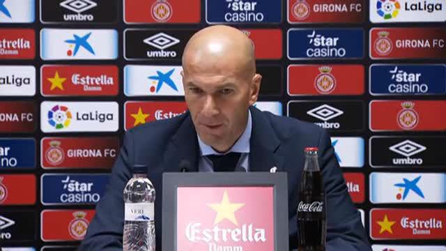 Zidane cree que el Madrid puede levantar la situación