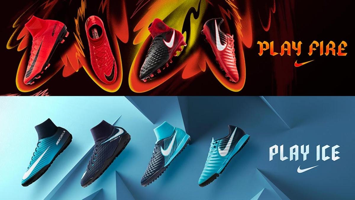 Nike presenta las nuevas botas de fútbol Nike Fire   Ice e1bc9f44b5018