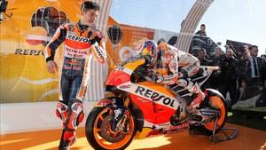 Márquez explicó en Las Rozas, la importancia de la aerodinámica