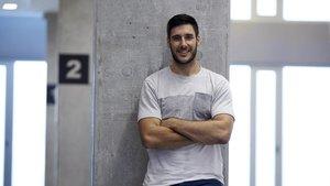 Abel Serdio, feliz y muy ambicioso en el FC Barcelona