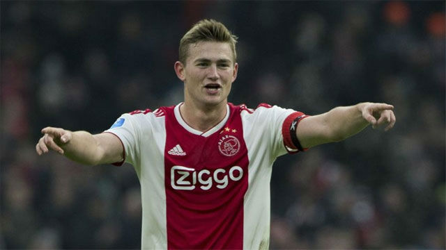 De Ligt can't stay at Ajax next season