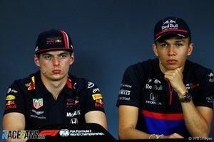 Albon será el compañero de Verstappen a partir de Bélgica