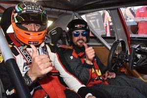 Alonso ha ofrecido una exhibición en Argentina