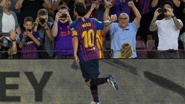 Así narraron en Radio Estadio el gol 6.000 de Messi
