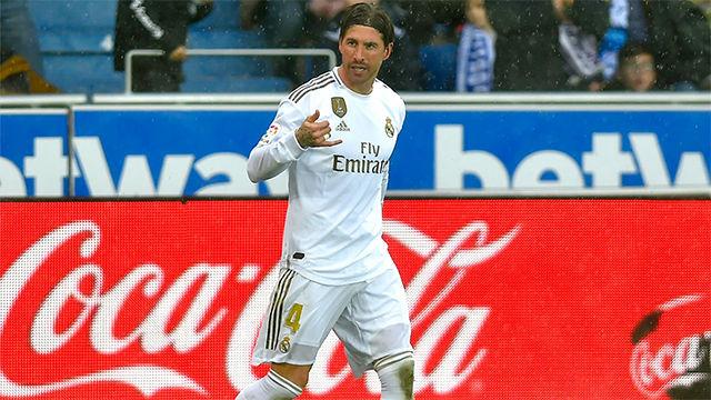 Así narró la radio el gol de Sergio Ramos