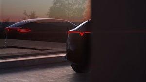 Avance del diseño del nuevo Cupra eléctrico.