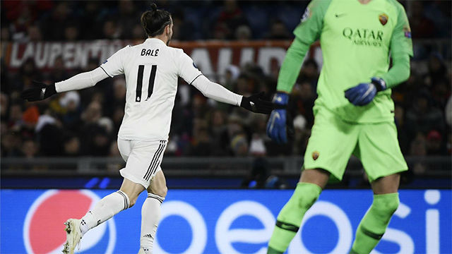 Real Madrid beat Roma to top Group G