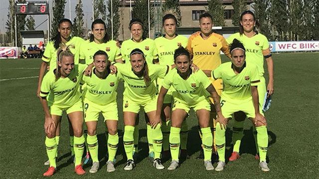 El Barça femenino se estrelló en su primer paso en Champions