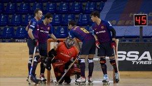 El Barça Lassa se prepara para lo que será su primer partido en la Copa Intercontinental