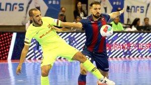 El Barça Lassa remontó un partido que tenía muy difícil