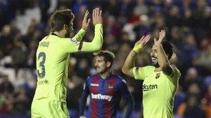 El Barça y el Levante han protagonizado marcadores espectaculares