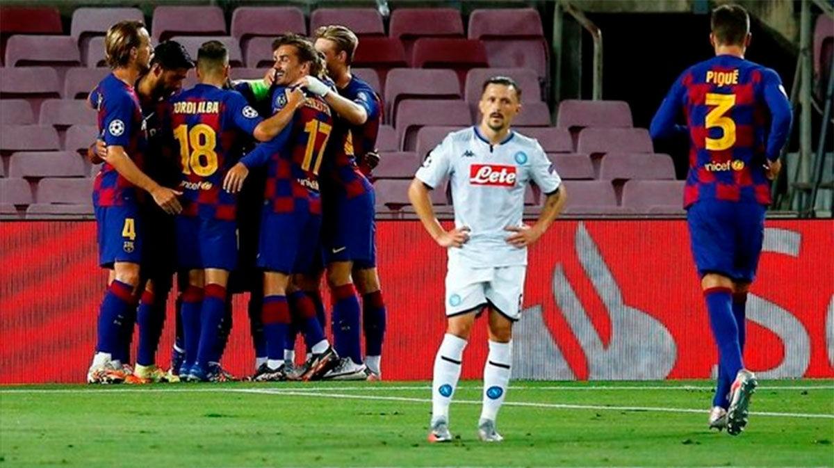 El Barça ya tiene el billete a Lisboa