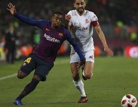 FC Barcelona, 4 - Cultural Leonesa, 1