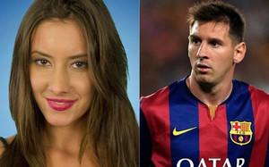 Belén conoció a Leo Messi