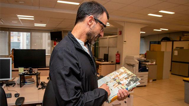 Bragado visitó la redacción de SPORT