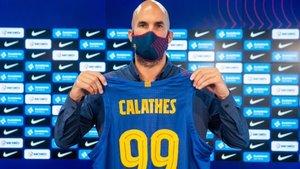 Calathes, único fichaje del Barça, además del técnico, Jasikevicius
