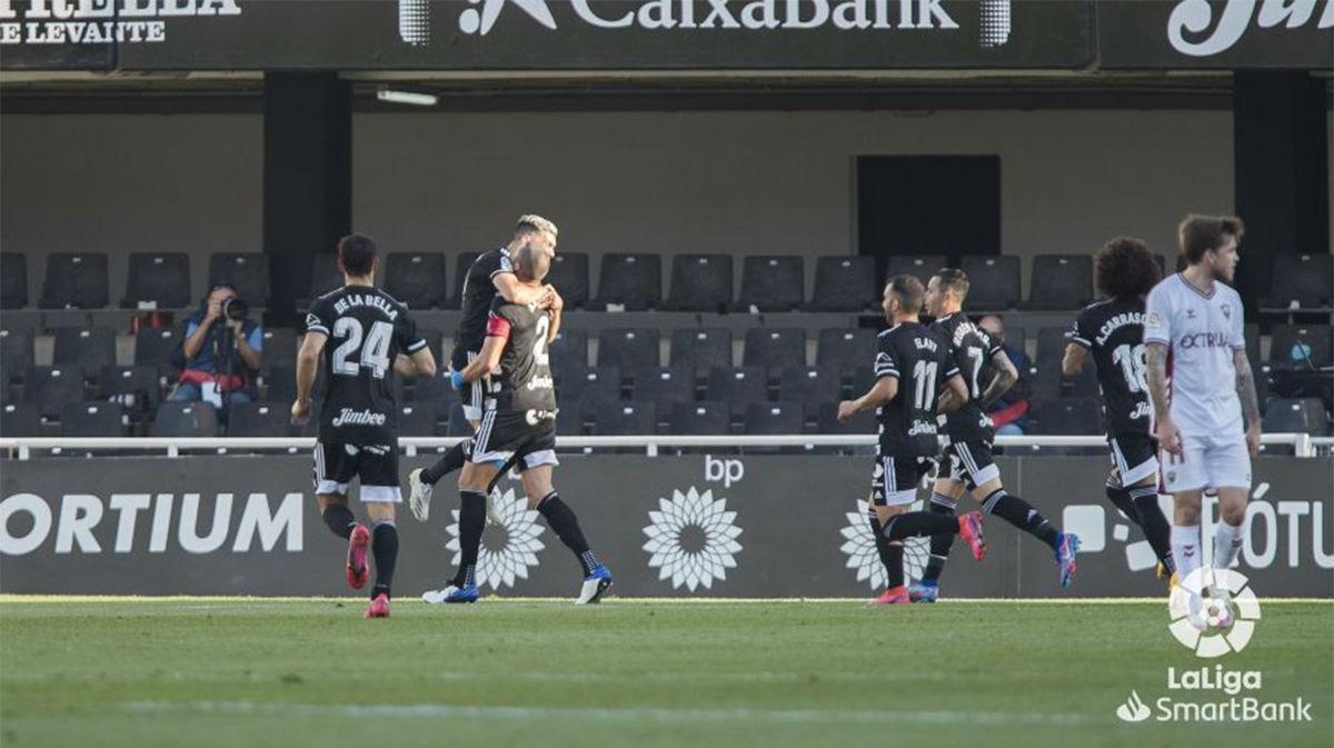 El Cartagena se lleva los tres puntos ante el Albacete