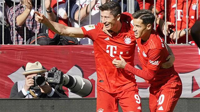 Coutinho encantado con Lewandowski, y los secretos de la liga alemana