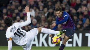Coutinho vuelve al once titular del Barça ante el Valencia