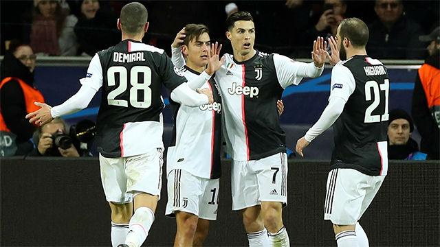 Cristiano puso su firma en uno de los dos goles de la Juve ante el Leverkusen