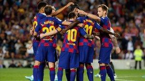 Demostración de instinto goleador del Barça