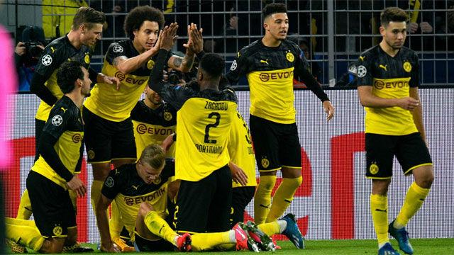 El Dortmund vence con doblete de Haaland y pone al PSG contra las cuerdas