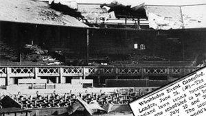 Dos bombas cayeron en la central de Wimbledon un 11 de octubre de 1940