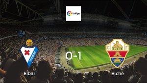 Eibar suffers defeat against Elche with a 0-1 at Ipurua Municipal Stadium