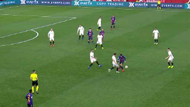 El error de Coutinho le costó caro al Barça