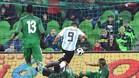 Este es el gol que coloca al Kun como tercer máximo goleador albicelete