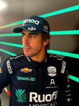Fernando Alonso, en modo indy