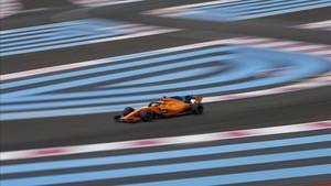 Fernando Alonso sale muy retrasado en la parrilla del Paul Ricard