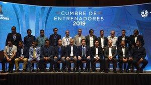 Fueron 25 los tecnicos que se juntaron en Asunción